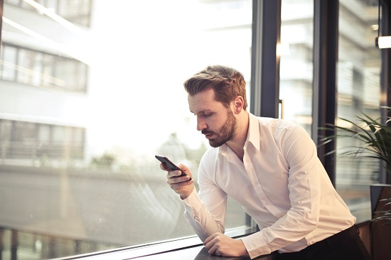 Candidates don't mind receiving text messages from recruiters, as long as they are short and professional.